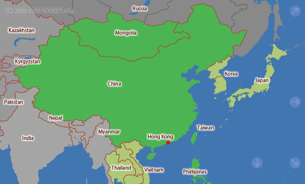 Map Of Asia Time Zones.East Asia Time Zone Map